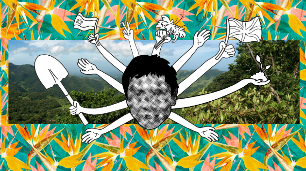 Marcos Garcia: Dancing on the new compost toilets is very important