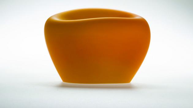 His work is also characterised by reviving the colour of yellow – as the colour of vitality hidden in a corn seed,
