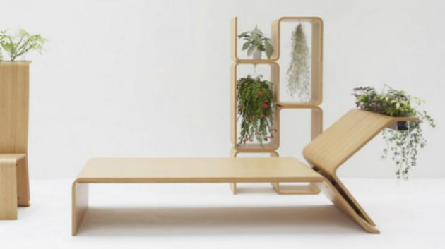 Plants furniture, Whygreen, Japonsko